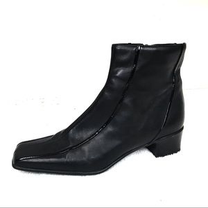 Sesto meucci Black ankle leather boots 6